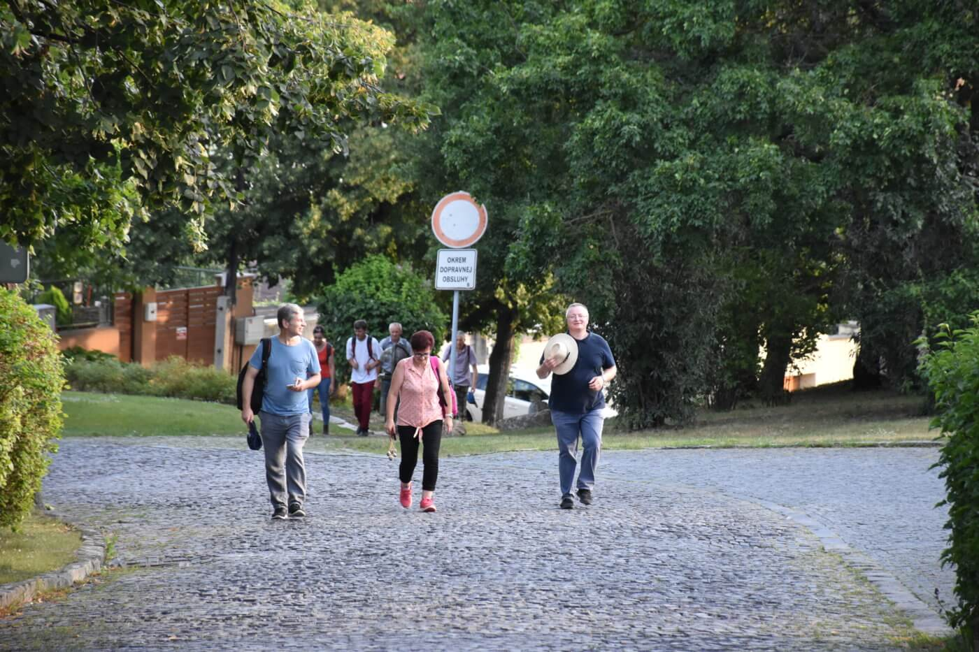 GM 2020 - Streda - pútnici pod hradom